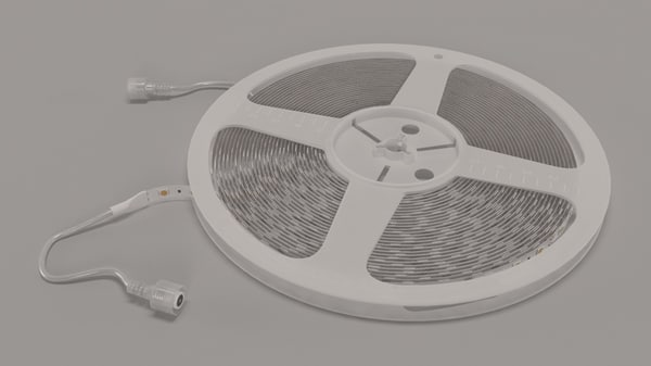 3d model led strip