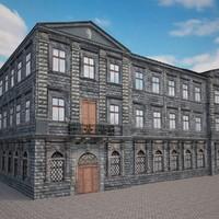 building design 3d model