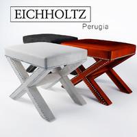eichholtz perugia stool 3d max