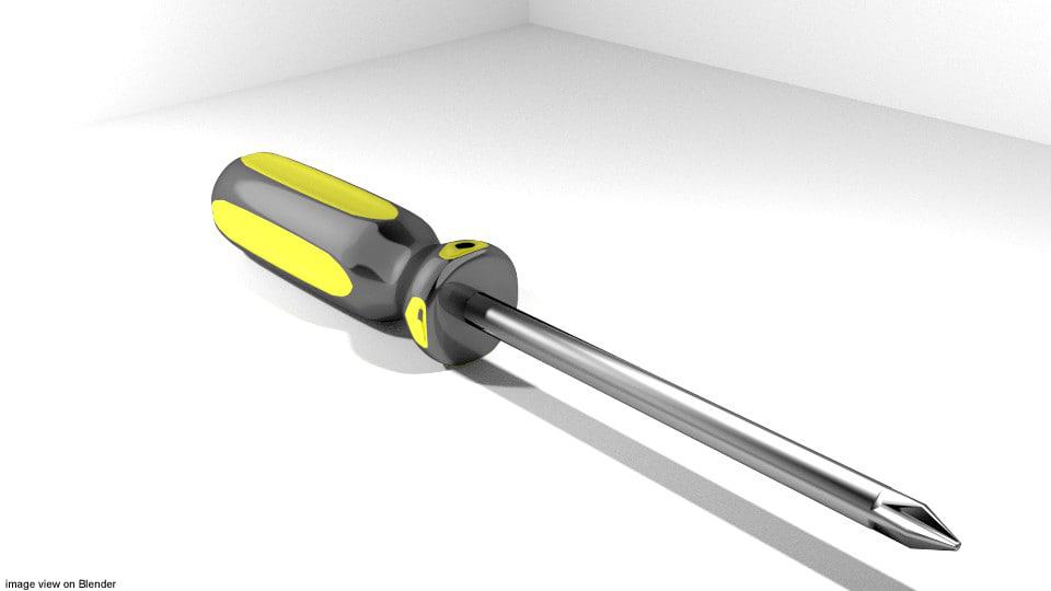 3ds screwdriver handtool mechanic
