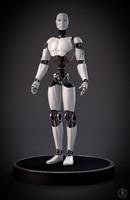 futuristic robot 3d 3ds