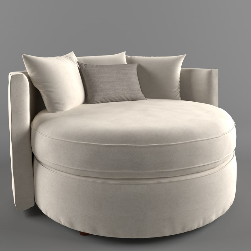 3d model jeanie chair 1