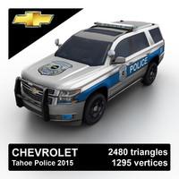 Chevrolet Tahoe Police 2015