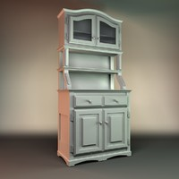 3d antique closet model