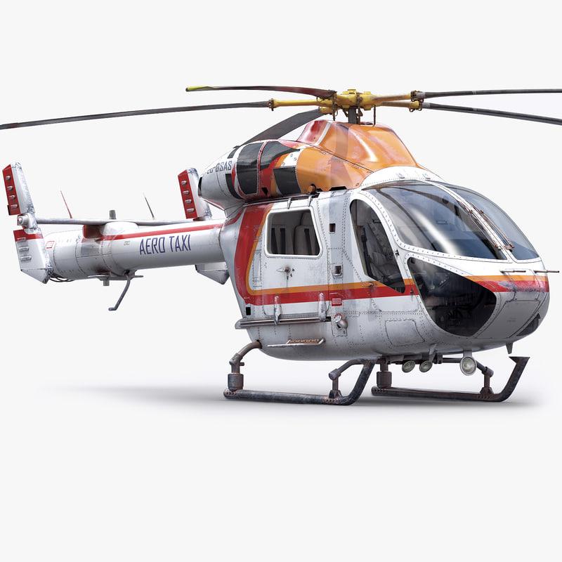 md902 explorer aircraft 3d 3ds