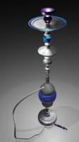 3d model smoke pipe hobby