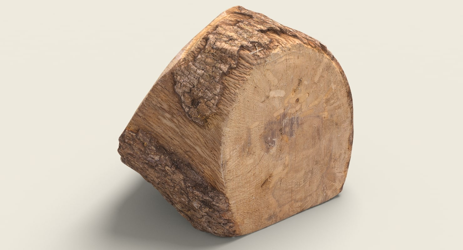 firewood ready unreal 3d model