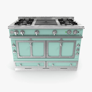 3d interior oven