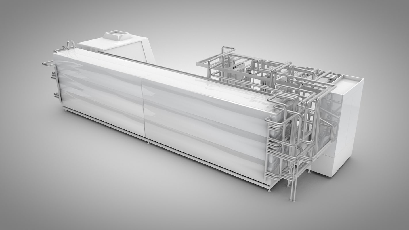 industrial machine 3d model