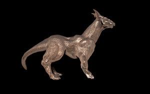 animal sculpture 3d 3ds