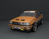 3d model proton saga megavalve sedan