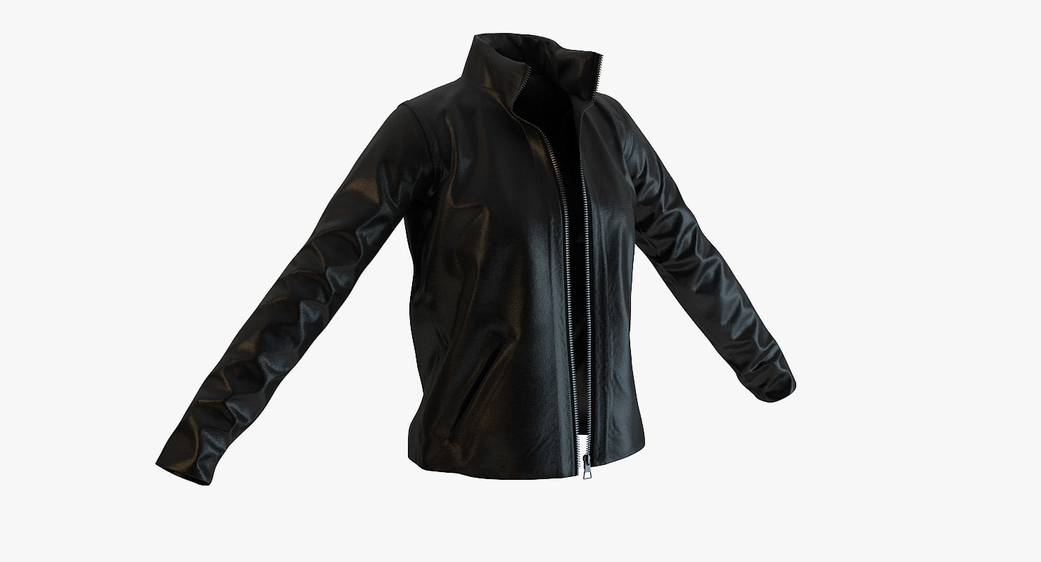 louis vuitton leather jacket 3ds