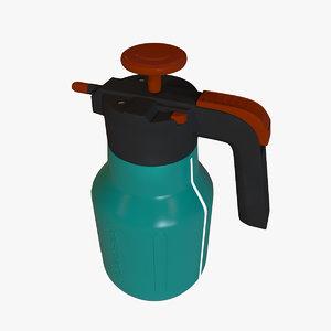 sprayer bottle 3d model