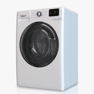 washing machine whirlpool awse7120 3d model