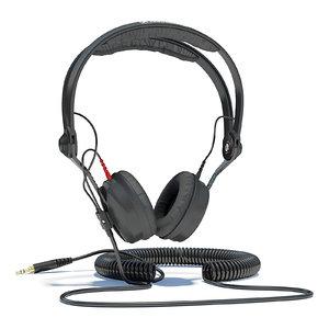 3d obj sennheiser hd headphones
