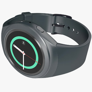 3d realistic samsung gear s2 model