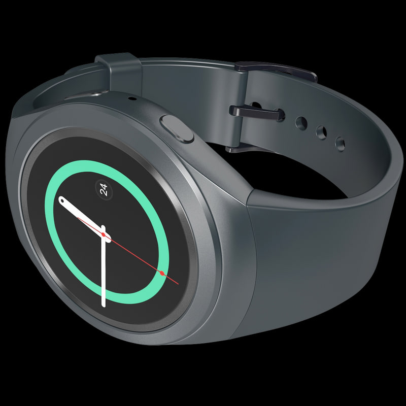 3d realistic samsung gear s2 model