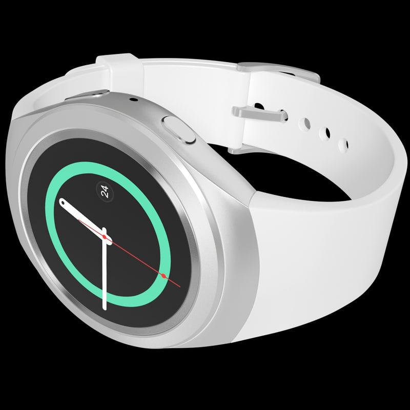 realistic samsung gear s2 3d