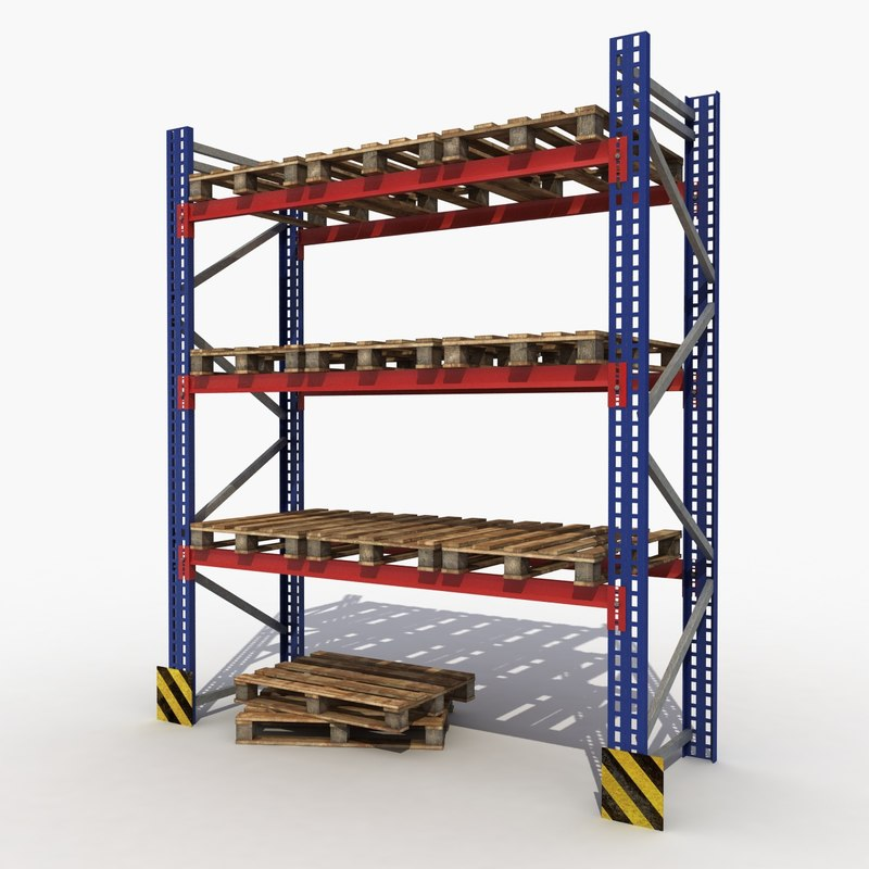 3d shelving modeled games
