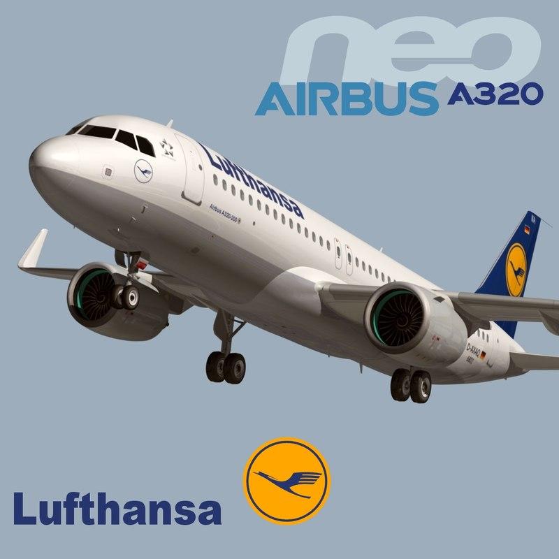 airbus a320 neo lufthansa fbx