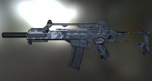 3d model ready g36c