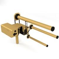 drone defense 3d model