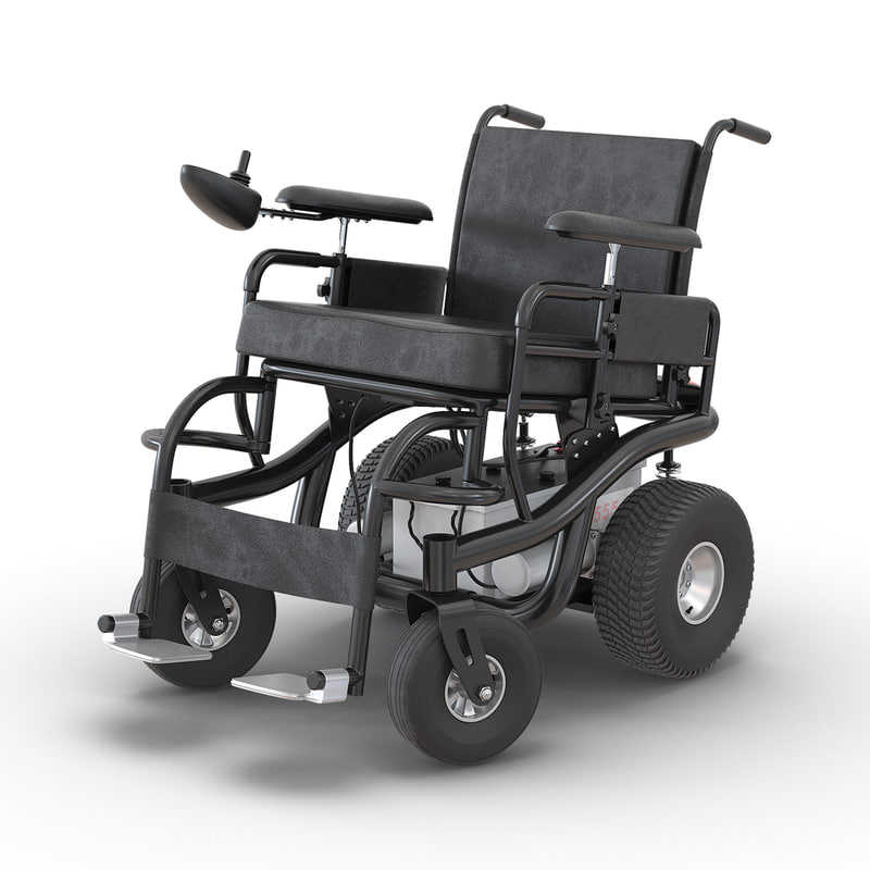powered wheelchair rigged max