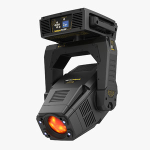 led moving light solaspot max