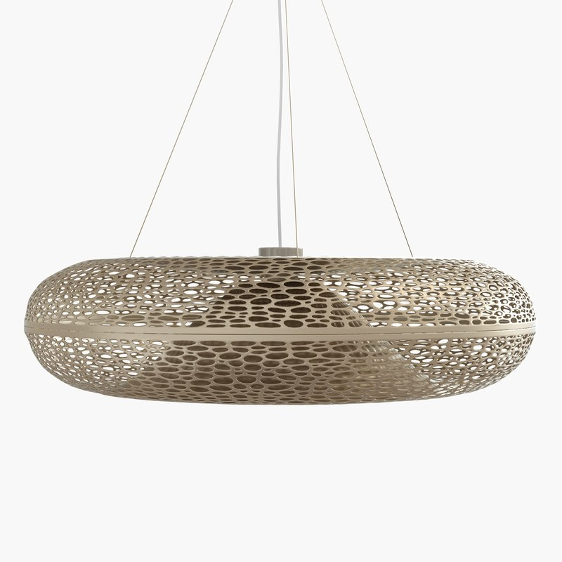 3d aeros pendant light model