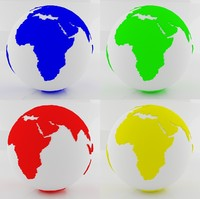world sphere color 3ds
