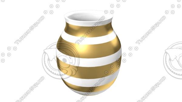 khler vase 3d model