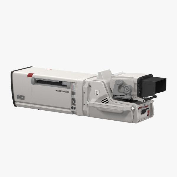hd studio camera generic 3d 3ds