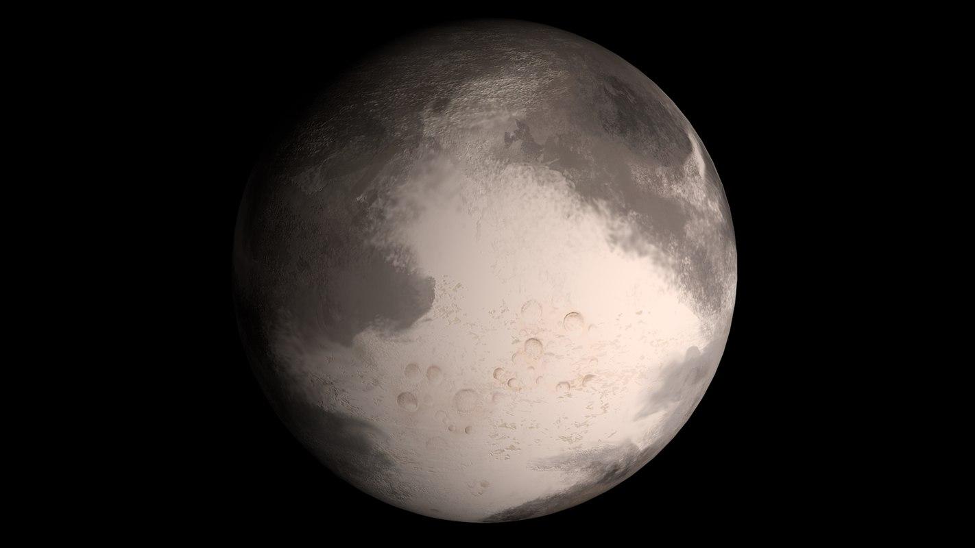 3d model planet exon