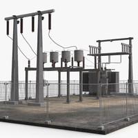 substation 2 3d model