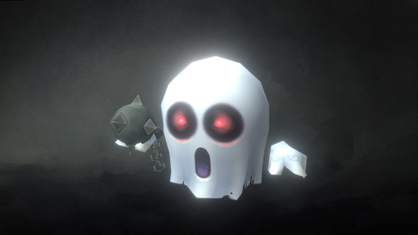 micro ghost hubert 3d model