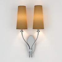 3d model chelsom double wall light