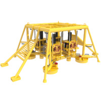 3d model subsea oil installation