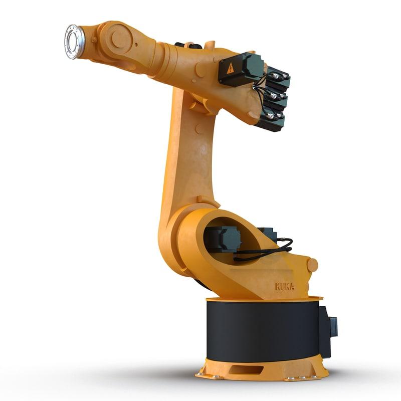 3d kuka robot kr 360 model