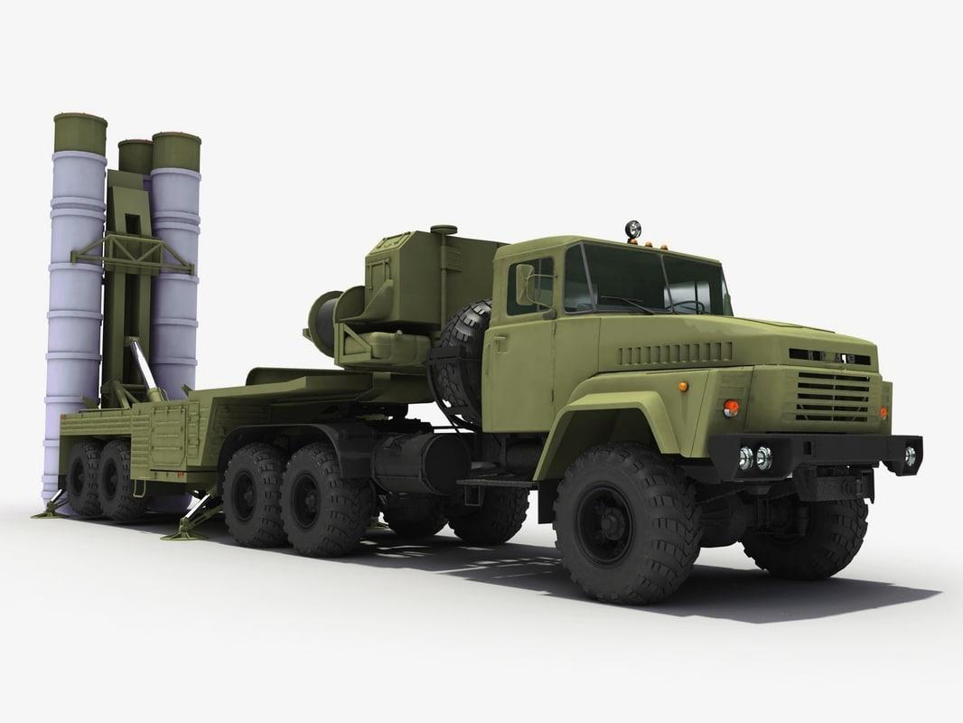 s-300 sa-10 grumble 3d model