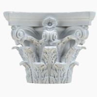 3d column capital