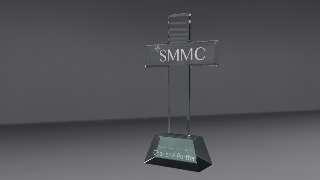 3d obj award glass