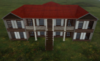 3d model old house |
