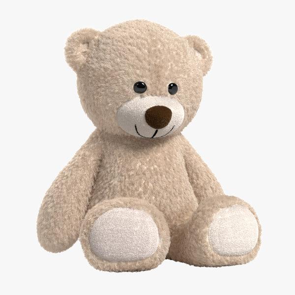 teddy bear light 3d ma