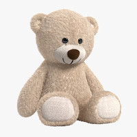 teddy bear light 3d ma