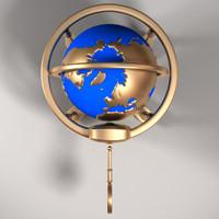 globe 3d model
