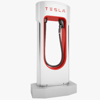 Tesla Electric Car Station 02