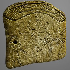 obj egyptian stone 2