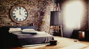 obj artist s bedroom