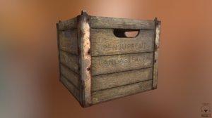 free box pen supreme 3d model