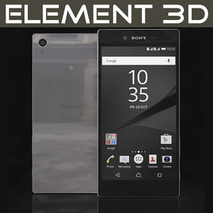 3ds realistic element sony xperia